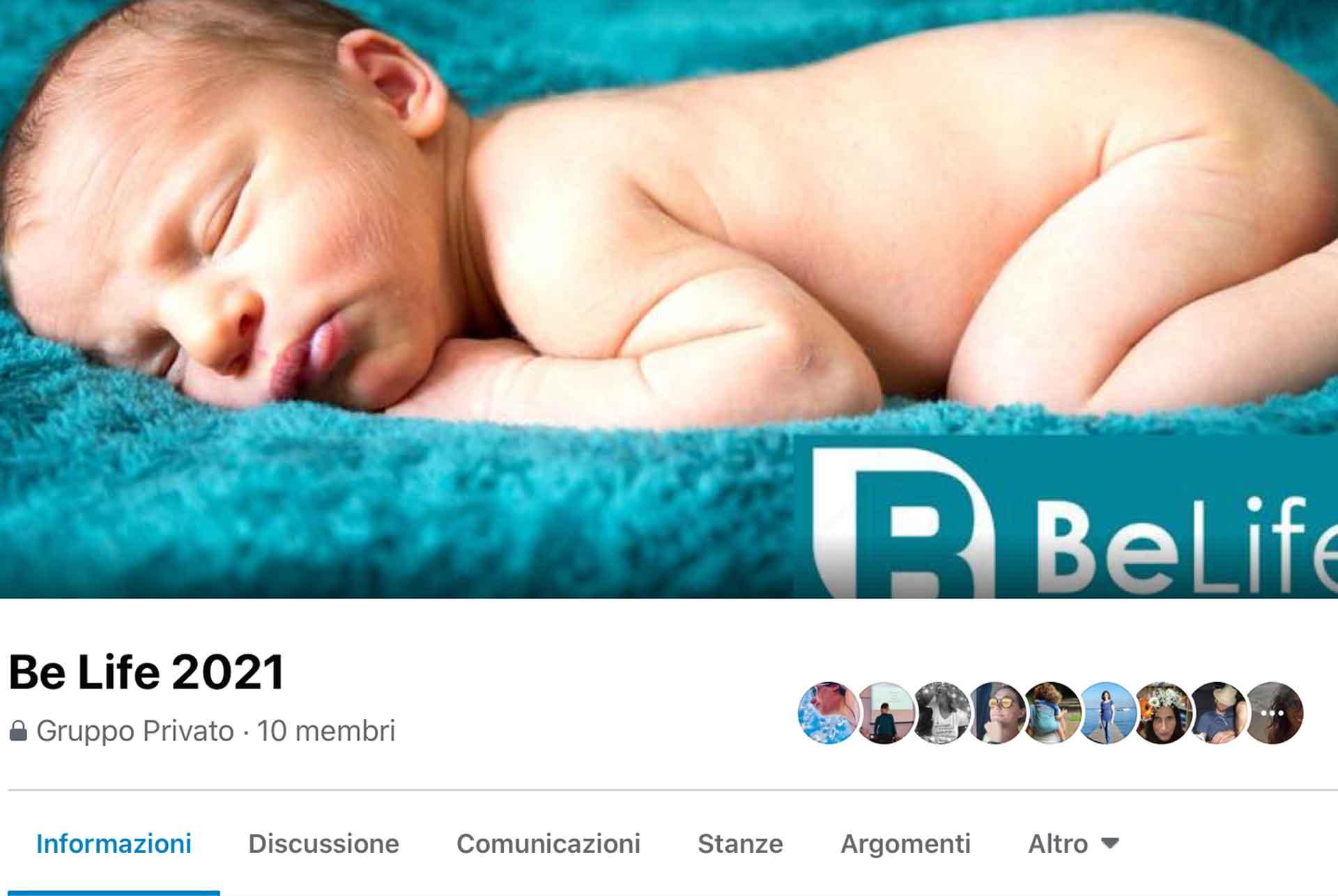 Be Life 2021 community Facebook